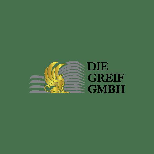 PHP/JS/WordPress/Typo3/Prestashop разработчик в Кёльне. Проект: Логотип строительной компании <br>«Die Greif GmbH»