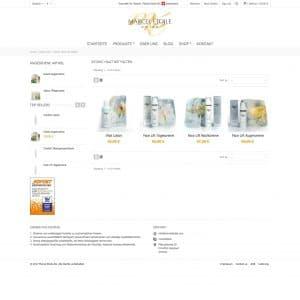 Webentwicklung: marceletoile.com - atonic-haut