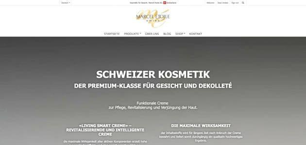 Webentwicklung: marceletoile.com-de
