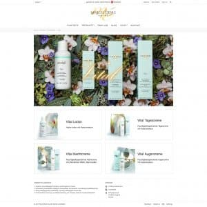 Webentwicklung: marceletoile.com - vital