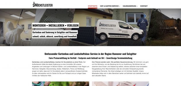Webentwicklung: hoechstleister.net