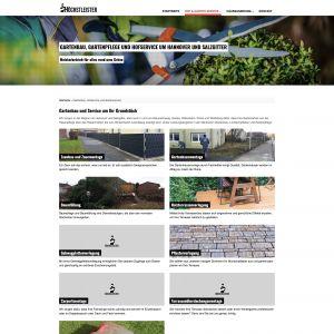 Webentwicklung: hoechstleister.net - gartenbau-hannover-salzgitter