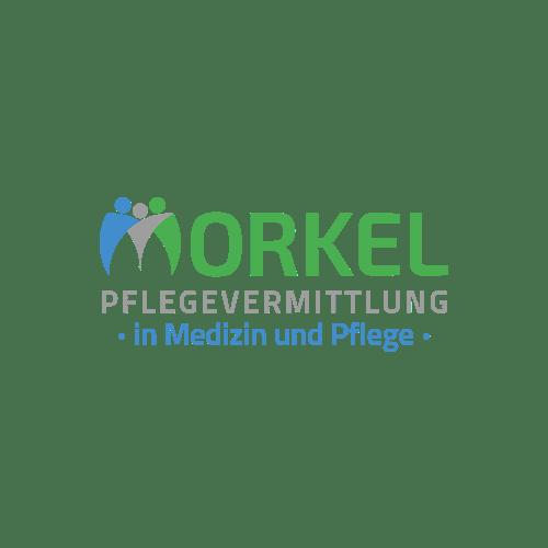 Web-Design und Webseiten-Programmierung in Köln. Projekt: Logo für Morkel Pflegevermittlung