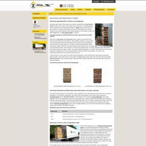 Suchmaschinenoptimierung (SEO) für Brennholzhandel Zeus Ruhr GmbH, Kaminholz
