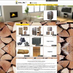 Suchmaschinenoptimierung (SEO) für Brennholzhandel Zeus Ruhr GmbH, Startseite
